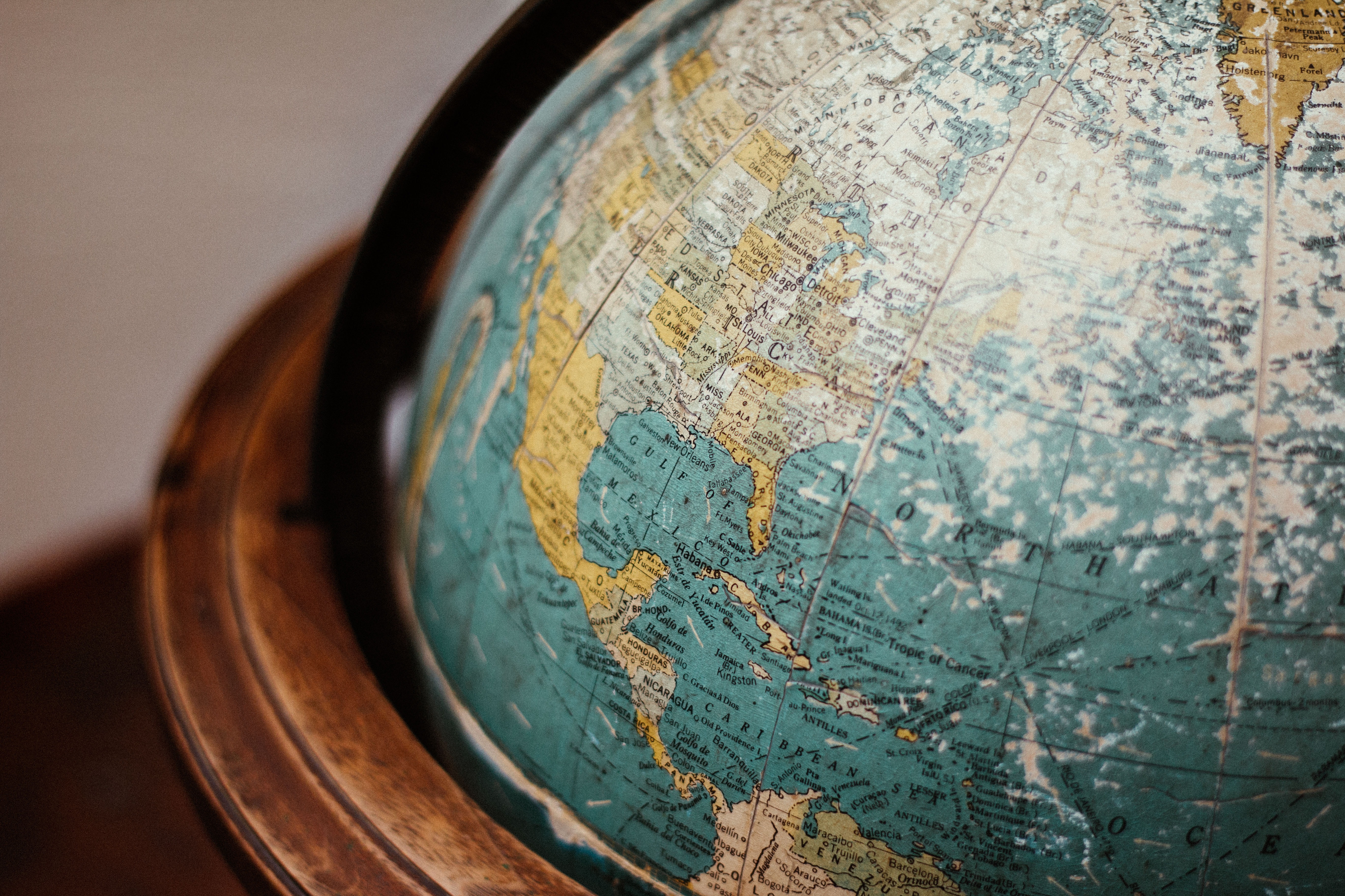Earth Globe photo by Adolfo Félix on Unsplash